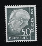 1954 Theodor Heuss Mi DE 189xWv Sn DE 714 Yt DE 71A Sg DE 1115 AFA DE 1152 Postfr. Xx Gepr. Prooved Schlegel - Unused Stamps