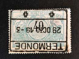 TR 20 Obl. TERMONDE [S] - 1895-1913