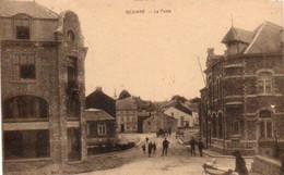Gedinne   La Poste  Bien Animée Circulé En 1925 - Gedinne