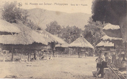 PHILIPPINES :  IIfugaos Ile De Luçon : Village Philippin .  Mission Van Scheut - Philippines