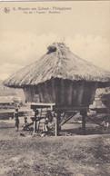 PHILIPPINES :  IIfugaos Ile De Luçon : Hutte De Tisserands .  Mission Van Scheut - Philippines