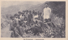 PHILIPPINES :  Missionnaire Donnant Un Cours De Catéchisme .  Mission Van Scheut - Philippines