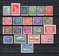 Yugoslavia  1931-32  .-  Y&T  Nº  207/208-210/221-222/224-225/228 - 1931-1941 Königreich Jugoslawien