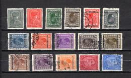 Yugoslavia  1933-34  .-  Y&T  Nº  237/238-239/250-261/262 - 1931-1941 Königreich Jugoslawien
