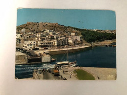 GREECE - CHALKIS - STRAIT OF EURIPUS - 1965 - POSTCARD - Grecia