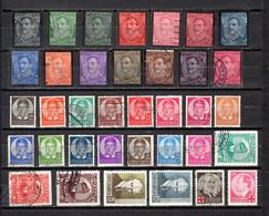 Yugoslavia  1934-36  .-  Y&T  Nº  263/276-277/289-290/292-303-305 - 1931-1941 Königreich Jugoslawien