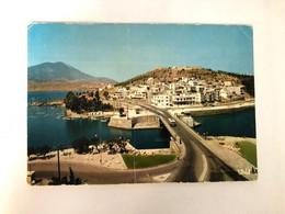 GREECE - CHALKIS - THE BRIDGE TO KARABABA - 1965 - POSTCARD - Grecia