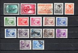 Yugoslavia  1939-40  .-  Y&T  Nº  343/344-345-357/368 - 1931-1941 Königreich Jugoslawien
