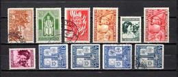 Yugoslavia  1940  .-  Y&T  Nº  375/377-380/383-384/387 - 1931-1941 Königreich Jugoslawien
