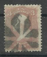 """Vereinigte Staaten 18, """"3 C-Briefmarke Mit G.Washington, Gezähnt"""" Gestempelt Mi.-Kat.:2,50 € - Usati"""
