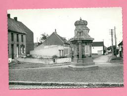 C.P. Quévy-le-Grand =  Rue  De La FONTAINE :  Monument  Aux  Morts - Quévy