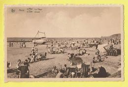 * Heist - Heyst (Kust - Littoral) * (Nels, Ern Thill, Nr 28) La Plage, Beach, Strand, Bateau Roulant, Enfants, Bikini - Heist
