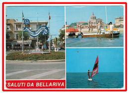25985  CPM   Saluti  Da BELLARIVA Di RIMINI   , Carte Multivues  1987   !!  ACHAT DIRECT !! - Rimini