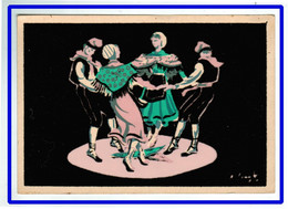 26036  CPM  Danses De France ( BALL DE LA CREU ) Danse De La Croix !!  Danse Catalane !! Carte Feutrine !! - Sin Clasificación