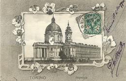 "9222 "" TORINO-SUPERGA "" - CART. POST. ORIG. SPED.1905 - Chiese"