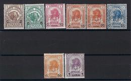Somaliland Du Sud - Possession Italienne - Benadir - N° 10 à 17 - Neuf Avec Charnière Et Oblitéré - 1906 - Somalia