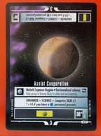 Star Trek CCG (Voyager) Mission – Assist Cooperative (uncommon) - Star Trek