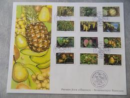 FDC Grand Format France 2012 : Moins De Co2, Légumes (Série Complète) - 2010-....