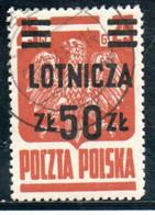 POLOGNE 1947 O BRUN ROUGE - 1944-.... Republik