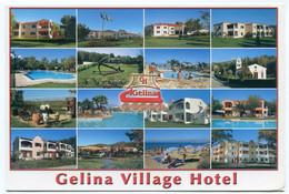 Greece - Gelina Village & Aqua Park - 16 Small Pictures -  Acharavi - Gelopen Kaart - Grecia