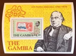 Gambia 1979 Rowland Hill Minisheet MNH - Gambia (1965-...)