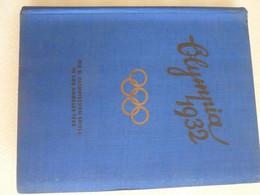 ALBUM PHOTOS Xe JEUX OLYMPIQUES 1932 LOS ANGELES / LAKE PLACID U.S.A édité 1932album - Bücher