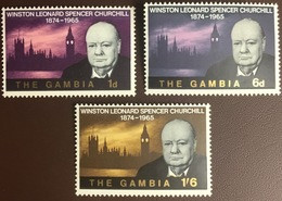 Gambia 1966 Churchill MNH - Gambia (1965-...)