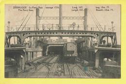 * Zeebrugge (Kust - Littoral) * (Edition J. Revyn) Lev Ferrij Boat, Ferry, Bateau, Boot, Train, Zug, Trein, TOP - Zeebrugge