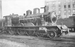Thème Train Machine 230 B 96 (ex 2696) Locomotives Du Sud Est  (ex PLM) CP Ed. H.M.P. N°515 Locomotive Vapeur - Treni