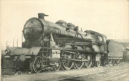 Thème Train Machine 6211 (devenue 231 C 12) Locomotives Du Sud Est  (ex PLM) CP Ed. H.M.P. N°538 Locomotive Vapeur - Treni