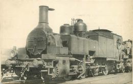 Thème Train Machine 7711 Devenue 4 AM 11 Locomotives Du Sud Est  (ex PLM) CP Ed. H.M.P. N°546 Locomotive Vapeur - Treni