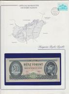 10 BANKNOTES Uncirculated  Of LUXEMBOURG, SOLOMON,SALVADOR, SIERRA-LEONE, SUEDE,  VANUATU, HONGRIE, GAMBIA,  MONGOLIE... - Banknoten