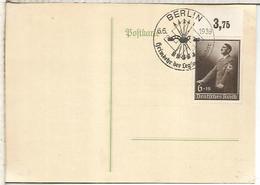 GUERRA CIVIL ALEMANIA BERLIN 1939 MT ESPECIAL REGREO DE LA LEGION CONDOR - 1931-50 Lettres