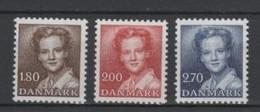 (S0361) DENMARK, 1982 (Definitives. Queen Margrethe II). Complete Set. Mi ## 753-755. MNH** - Danimarca