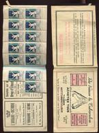 Carnet  - Pour Vaincre La Tuberculose - Advertising