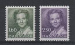 (S0615) DENMARK, 1982 (Definitives. Queen Margrethe II). Complete Set. Mi ## 759-760. MNH** - Danimarca