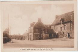 Sarthe : CHEVILLE : Un  Coin De La  Place - Vibraye