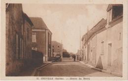 Sarthe : CHEVILLE : Centre  Du   Bourg - Vibraye