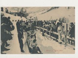 SUISSE BOBRUN SAINT MORITZ START CPA BON ETAT - Winter Sports