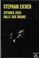 Flyer Du Concert De Stephan Eicher Et De Renan Luce - Advertising