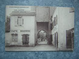 TILLAC - CAFE BOUCHERIE - L. CASSEDE - France