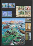 NATIONS UNIES / ONU - GENEVE - ANNEE COMPLETE 1998 ** MNH AVEC CARNET MAIS SANS YT 365 (BLOC 9) - COTE = 82.6 EUR - Ungebraucht