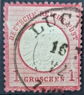DEUTSCHES REICH 1872 - Canceled - Mi 19 - Grosses Brustschild 1g - Oblitérés