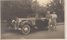 PHOTO  13 Cm  X  8  Cm  CHENARD WALKER  CABRIOLET 8  1936  ??? - Cars
