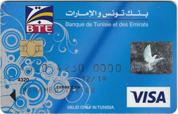 Visa Card BTE Tunisia - Credit Cards (Exp. Date Min. 10 Years)