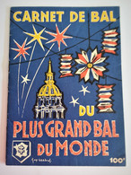 Programme Plus Grand Bal Du Monde Paris 1958 Guy CHABROL - Programmes