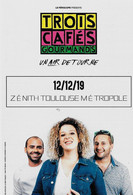 Flyer Des Concerts De Trois Cafés Gourmands Et De Elsa Esnoult - Advertising