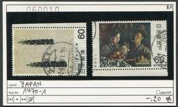 Japan - Japon - Nippon - Michel 1470-1471 - Oo Oblit. Used Gebruikt - 1926-89 Emperador Hirohito (Era Showa)