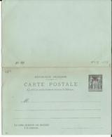 CHINE ENTIER POSTAL CARTE POSTALE ACEP CP N° 7 EN - Briefe U. Dokumente