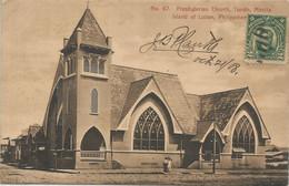 004710 - PHILIPPINES - PRESBYTERIAN CHURCH, TONDO, MANILA - 1908 - Philippines